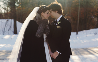 Winter Wedding at Viamede Resort